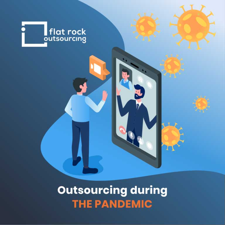 outsourcing during the pandemic illustration
